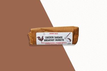 Trader Joe's Chicken Sausage Breakfast Burrito