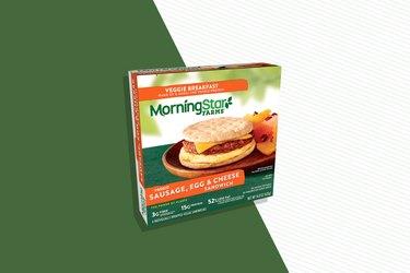 MorningStar Farms Sausage, Egg & Cheese Vegetarian Breakfast Sandwich