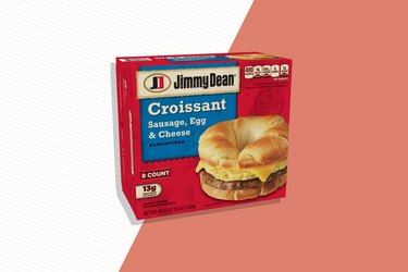 Jimmy Dean Sausage, Egg and Cheese Croissant Sandwich