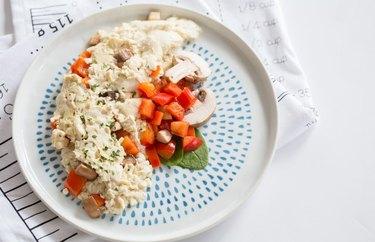 Veggie Tofu Scramble Gluten-Free Dish