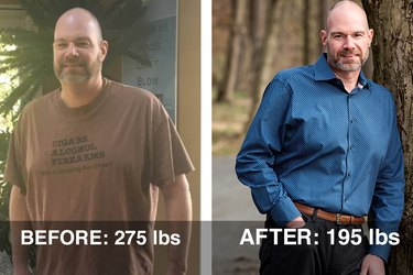 Scott's before-and-after transformation