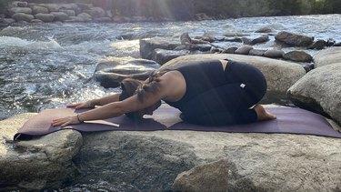 Move 1: Extended Child's Pose (Utthita Balasana)