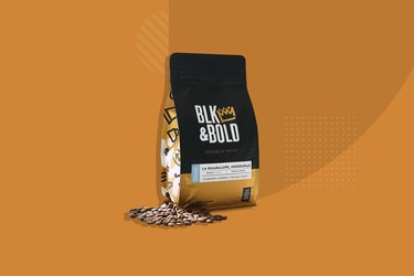Blk & Bold coffee bag