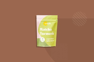 Golde  matcha turmeric tea