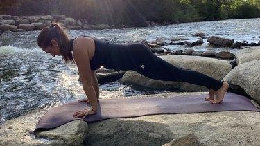 Move 6: Plank Pose (Kumbhakasana)