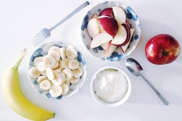 apples banana calories weight loss