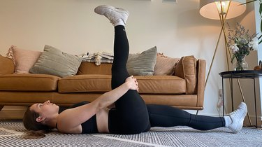 Move 1: Supine Hamstring Stretch