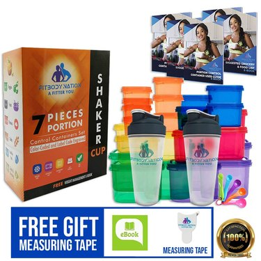 Fitbody Nation 21-Day Portion Control Containers
