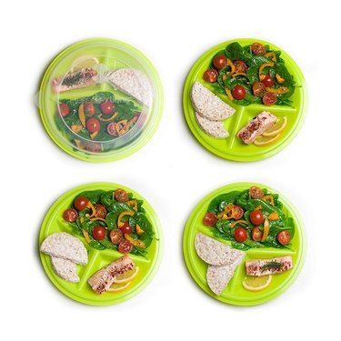 Precise Portions 2-Go Healthy Portion Control Plates