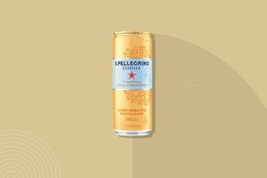 San Pellegrino Essenza Sparkling Natural Mineral Water, Tangerine & Wild Strawberry