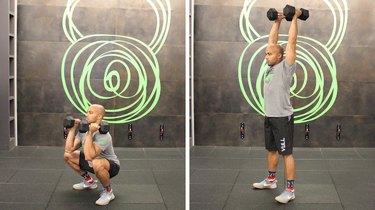 Move 6: Dumbbell Thruster