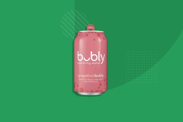 Bubly Sparkling Water, Grapefruit