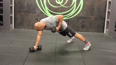 Move 1: Dumbbell Renegade Row