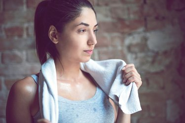 sweat smells bad after exercise body odor