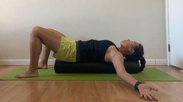 Stretch 1: Supine Pectoral Stretch