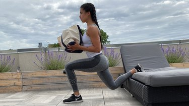 8. With Weights: Dumbbell Bulgarian Split Squat