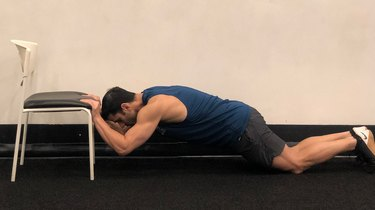 3. Chair Triceps Extension
