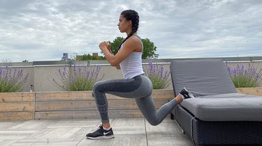 7. Without Weights: Bulgarian Split Squat