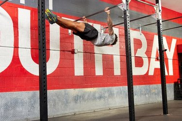 9. Front Lever