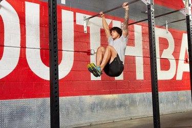 11. Hanging Leg Raise