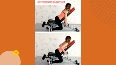 Move 2: Chest-Supported Dumbbell Row
