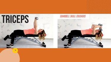 Move 1: Dumbbell Skullcrusher