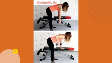 Move 2: One-Arm Dumbbell Row