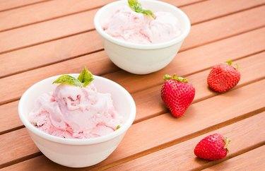 Strawberry Basil Ice Cream recipe