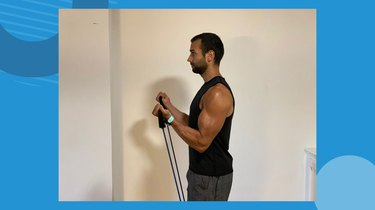 Move 4: Banded Biceps Curl