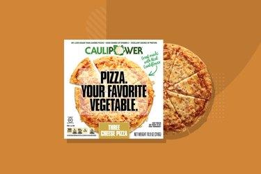 CAULIPOWER Three Cheese Cauliflower Crust Gluten-Free Frozen Pizza