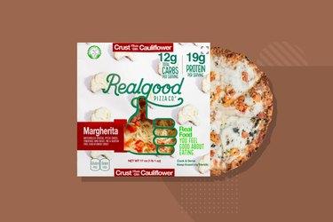 Real Good Foods Cauliflower Crust Vegetable Pizza