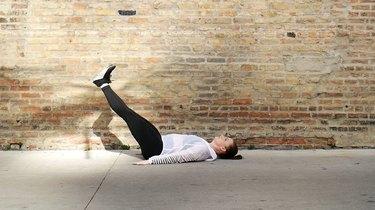 2. Eccentric Leg Lift
