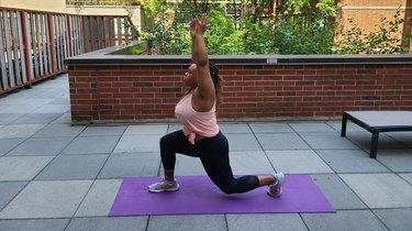 Move 6: Split Squat Pulses