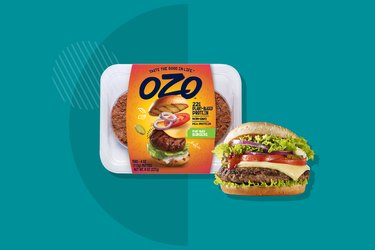Ozo Plant-Based Burger
