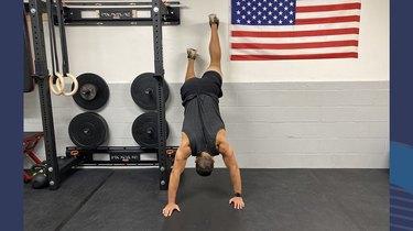 8. Handstand Walk-Up