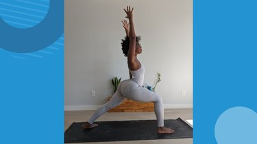 Move 3: Warrior I (Virabhadrasana I)