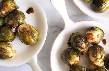 Balsamic Glazed Brussels Sprouts with Garlic Vitamin B Recipes