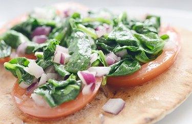 Spinach Feta Pizza Vitamin B Recipe
