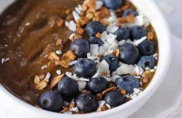 Chocolate Berry Smoothie Bowl recipe