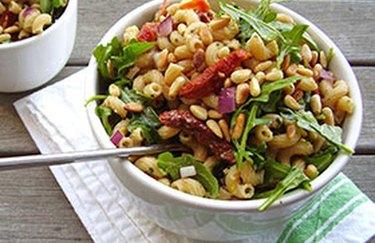 Lemony Pesto Macaroni Salad recipe