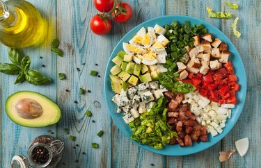 Champagne Cobb-Style Salad recipe