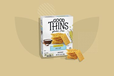 Good Thins Gluten Free Sea Salt Corn Crackers