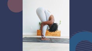Move 9: Standing Forward Fold (Uttanasana)