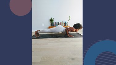 Move 5: Four-Limbed Staff Pose (Chaturanga Dandasana)