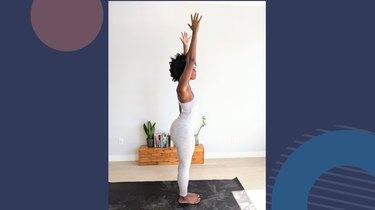 Move 2: Upward Salute (Urdvha Hastasana)