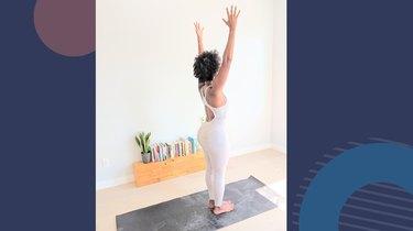 Move 10: Upward Salute (Urdvha Hastasana)