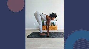 Move 4: Standing Half Forward Bend (Ardha Uttanasana)