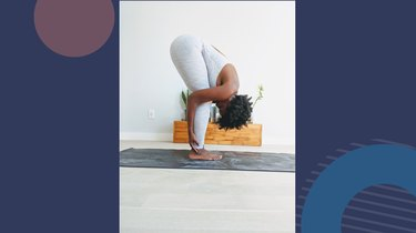 Move 3: Standing Forward Fold (Uttanasana)