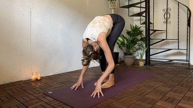 Move 6: Standing Forward Fold (Uttanasana)
