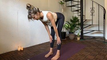 Move 7: Halfway Lift (Ardha Uttanasana)